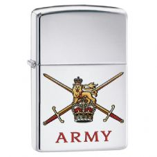 British Army Crest Zippo Lighter